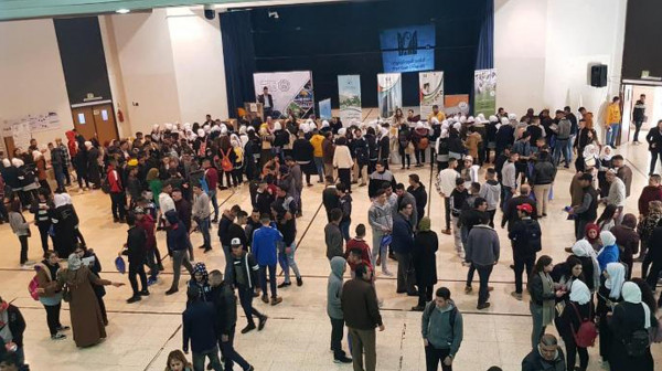 النجاح تشارك في اليوم الإرشادي لطلبة الثانوية العامة بجامعتي القدس وبيت لحم