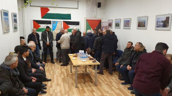 بيت عزاء في برلين عن روح الشّهيد يزن أبو طبيخ