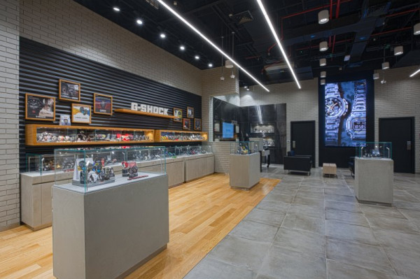 "CASIO تفتتح في ""دبي مول"" أكبر متجر لساعات G-SHOCK بالشرق الأوسط"