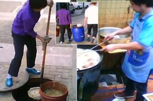"""تقرير صادم.. أطباق صينية شهيرة تطبخ بزيوت محولة من """"المجاري"""""""