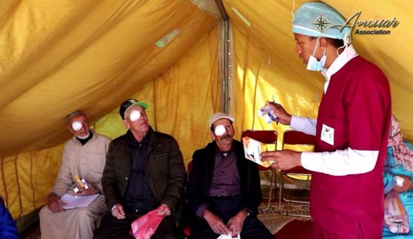 اختتام قافلة طبية ناجحة في ضواحي مراكش باجراء 130 عملية جراحية
