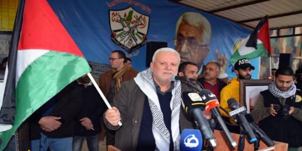 مهرجانٌ جماهيريٌّ حاشدٌ بمخيّم الرشيدية دعمًا لمواقف الرئيس عبّاس ضدَّ صفقة القرن