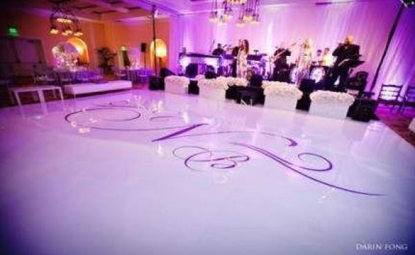 أفكار لديكور حلبة الرقص في حفل الزفاف