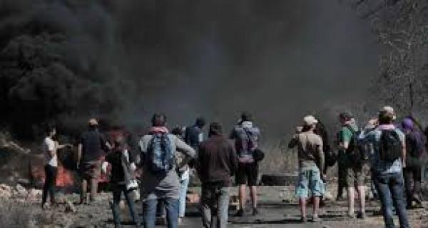 إصابات جراء قمع الاحتلال مسيرات الجمعة بالضفة