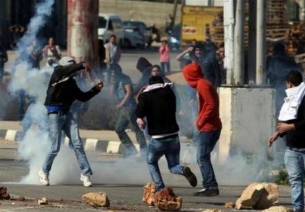 إصابات بالرصاص الحي والمطاطي في مواجهات مع الاحتلال بالضفة