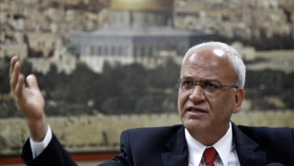 عريقات يُوجه دعوة لبريطانيا بشأن الاستيطان الإسرائيلي بالضفة الغربية