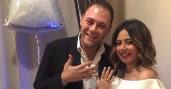 محمد رزق ينفصل عن زوجته الإعلامية