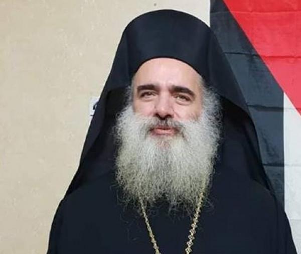 المطران حنا: المقدسيون لن يستسلموا لسياسات الاحتلال