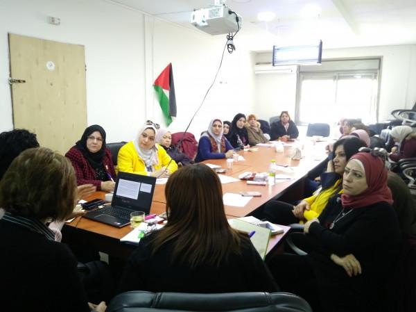 دائرة المرأة تنظم ورشة عمل في رام الله