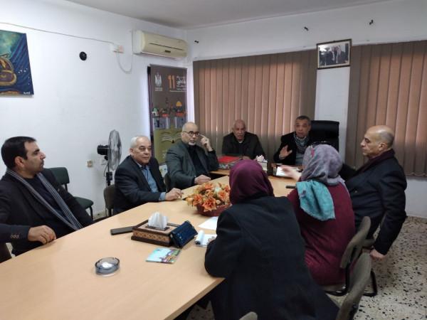 وزارة الثقافة تعقد اجتماعها الدوري للمجلس الاستشاري الثقافي بطولكرم