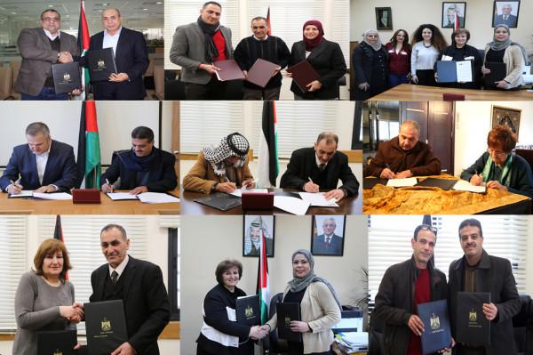"""""""التربية"""" توقع سلسلة اتفاقيات تعاون مع شركائها الوطنيين لدعم التعليم"""