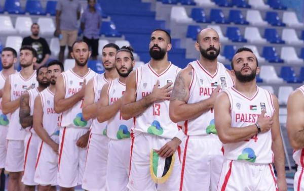 الجالية الفلسطينية بإسطنبول تكرم المنتخب الفلسطيني لكرة السلة
