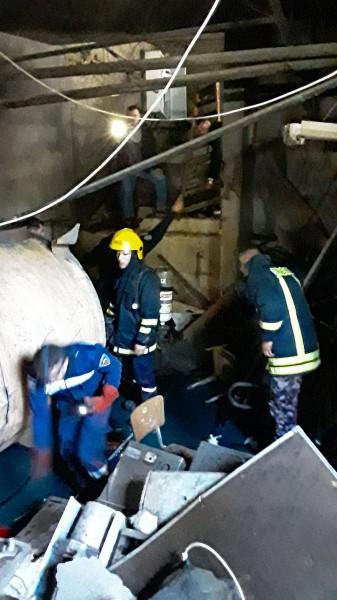 بالصور: 20 إصابة إثر انفجار بمولد نظام التدفئة المركزية بجامعة الخليل