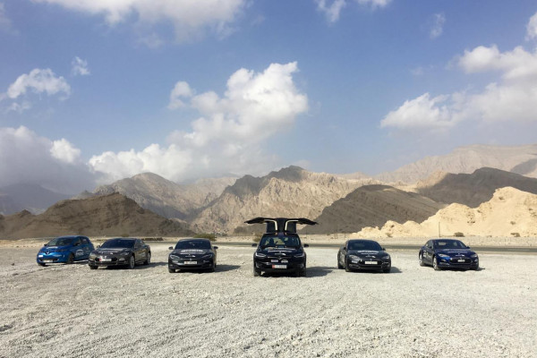 EVRT دبي 2020 أكبر رحلة للسيارات الكهربائية بالعالم تنطلق من دبي