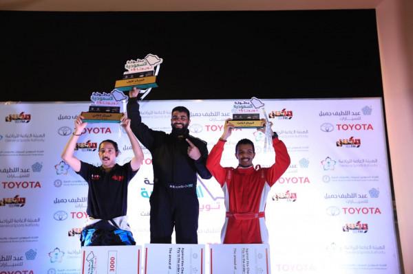 سلطان كايلو يتوج بطلا للجولة الثانية من بطولة السعودية تويوتا للدرفت