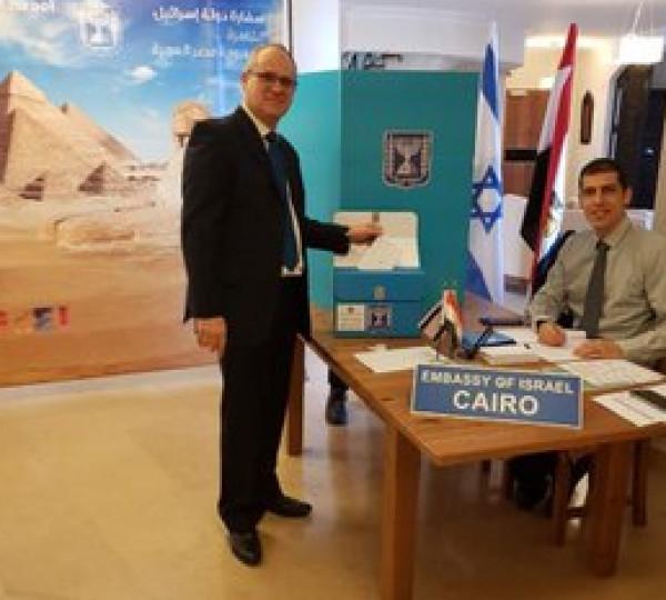 بدء التصويت لانتخابات (كنيست) في السفارات والممثليات الإسرائيلية بالعالم