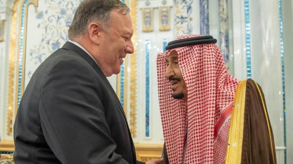 بومبيو في السعودية اليوم بزيارة تستمر عدة أيام