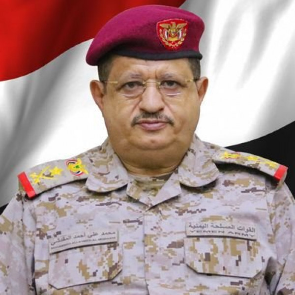 أول تصريح لوزير الدفاع اليمني بعد محاولة اغتياله