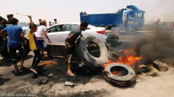 العراق: أهالي البصرة يغلقون الحدود مع إيران لمنع انتقال فيروس (كورونا)