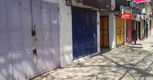 خمسة آلاف منشأة اقتصادية أغلقت أبوابها بسبب الحصار الإسرائيلي على غزة