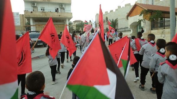 """الجبهة الديمقراطية تحيي ذكرى انطلاقتها الـ""""51 """" في محافظة اريحا"""