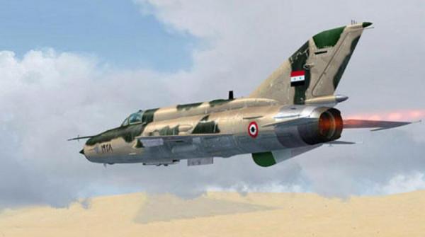 شاهد: سلاح الجو السوري يستهدف بدقة مواقع المسلحين في ريف إدلب