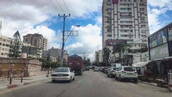 """""""المرور"""" بغزة: حركة مرورية اعتيادية على كافة المفترقات والمحاور الرئيسية"""