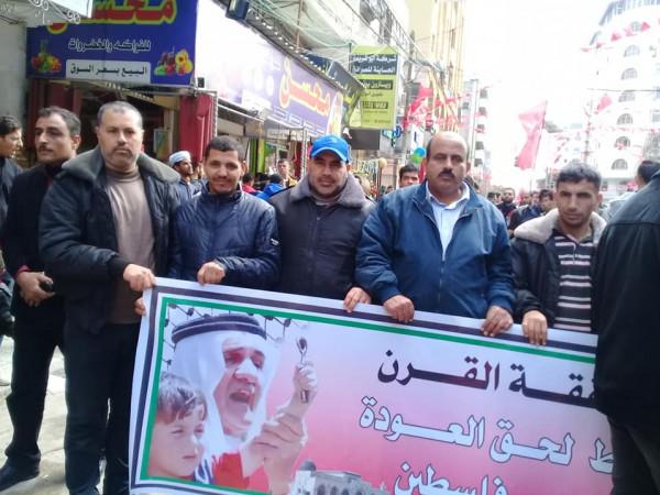 """""""العربية الفلسطينية"""" تشارك في انطلاقة الجبهة الديمقراطية"""