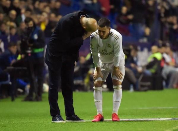 زيدان يثير الخوف في ريال مدريد بسبب إصابة هازارد