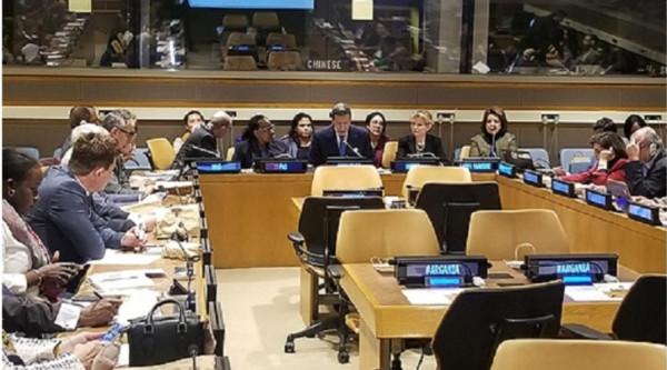 لطيفة اليعقوبي مديرة تنمية مناطق الأركان بالأمم المتحدة في لقاء رفيع المستوى