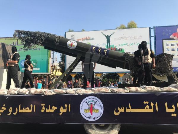 """أول تعليق من """"الجهاد الإسلامي"""" على إطلاق المقاومة 20 صاروخًا باتجاه غلاف غزة"""