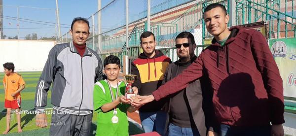 مدرسة رودلف فلتر بالوسطى تنظم بطولة المرحوم هاني الهور لكرة القدم