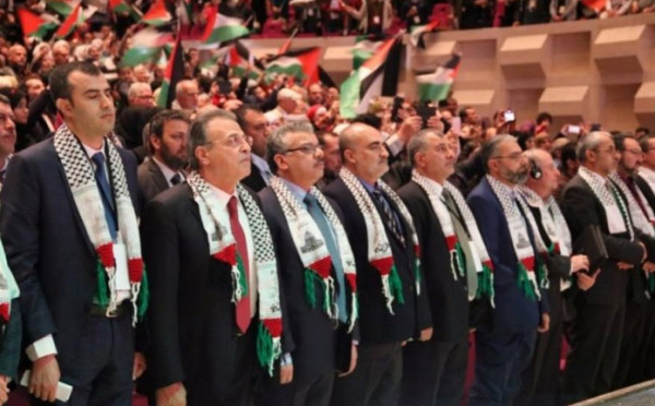 وفد مؤتمر فلسطينيي أوروبا يختتم زيارته للرباط
