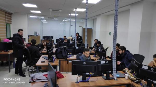 فوز جامعة بوليتكنك فلسطين بالمراكز المُتقدمة بمسابقة جوجل هاش كود الدولية