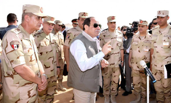 القوات المسلحة المصرية تنعى الرئيس الأسبق حسني مبارك