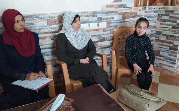 وزارةالأسرى تزور عدد من ذوي الأسرى للإطمئنان على أوضاعهم الحياتية