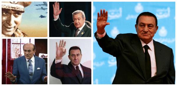 هؤلاء الفنانون جسدوا الرئيس الراحل حسنى مبارك وقلدوه