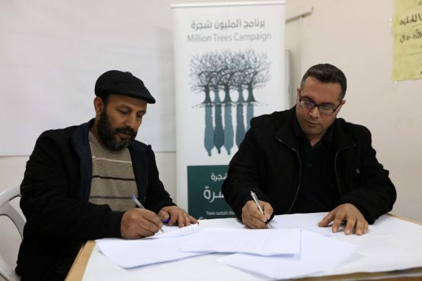 """مشروع """"أشجار الخليل"""".. """"العربية"""" تستعد لزراعة 12 ألف شجرة في قرى الخليل"""