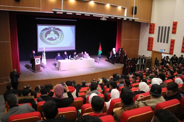 """""""القدس المفتوحة"""" تستضيف فعاليات اليوم الإرشادي لطلبة الثانوية العامة في فرعها بالخليل"""