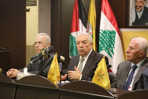 بيروت: افتتاح ورشة عمل تنظيمية لأمناء سر أقاليم فتح في الساحة العربية
