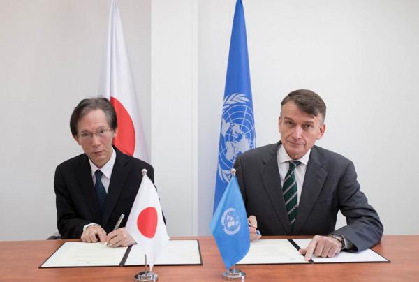 اليابان تتبرع بـ 22 مليون دولار صالح (أونروا)