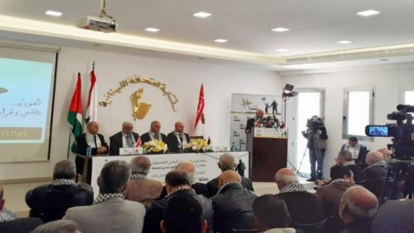 """التجمع الفلسطيني للوطن والشتات في لبنان يشارك في حملة """"العودة حقي وقراري"""""""