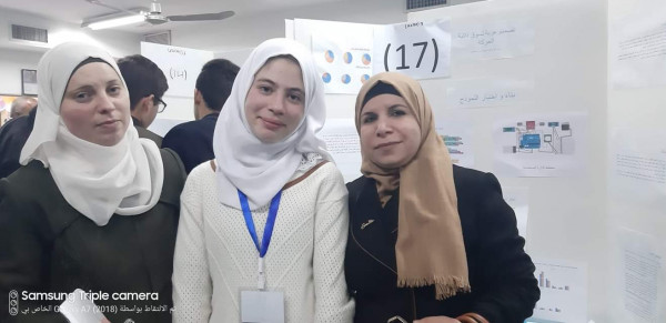 قلقيلية: مدرسة أناث الشرعية تصمم مشروعا لعربة التسوق ذاتية الحركة