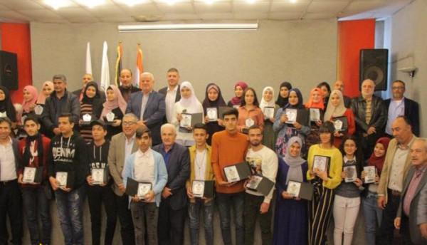 الاتّحاد العام لطلبة فلسطين يُكرِّم الطلاب المتفوّقين في ثانويات صيدا