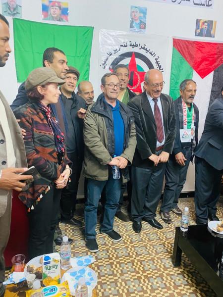 مهرجان سياسي كبير بالجزائر بمناسبة انطلاقة الجبهة الديمقراطية الـ 51