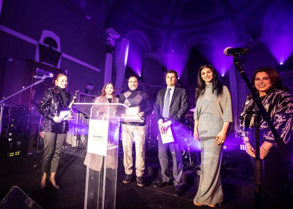 ريما فقيه سفيرة مركز سرطان الأطفال في لبنان في حفل خيريّ في لندن
