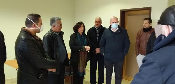 التنمية تسلم مركز الحجر الصحي لمديرية الصحة