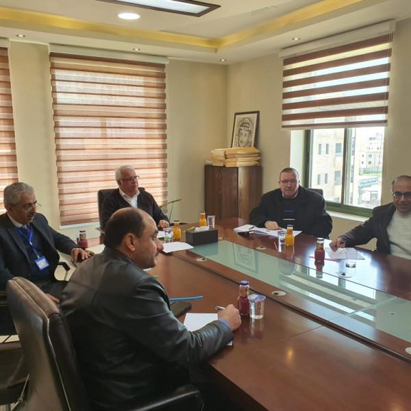 مجلس العمداء يلتئم لمتابعة العملية الأكاديمية بجامعة بوليتكنك فلسطين