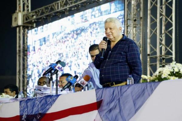 مرتضى منصور: ضحّكت مصر كلها على الأهلي