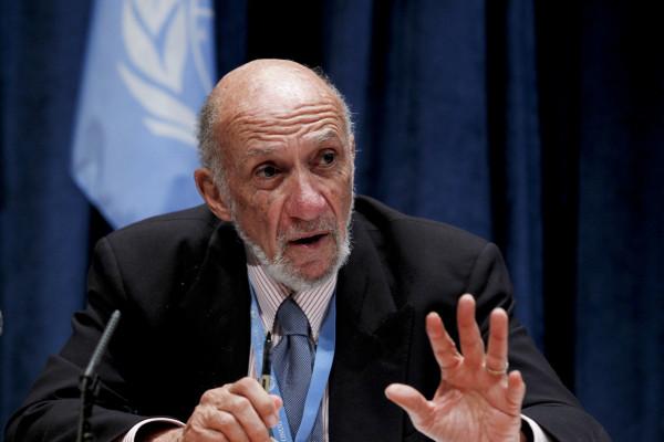 فولك يقدم رأيه بشأن حالة دولة فلسطين إلى المحكمة الجنائية الدولية